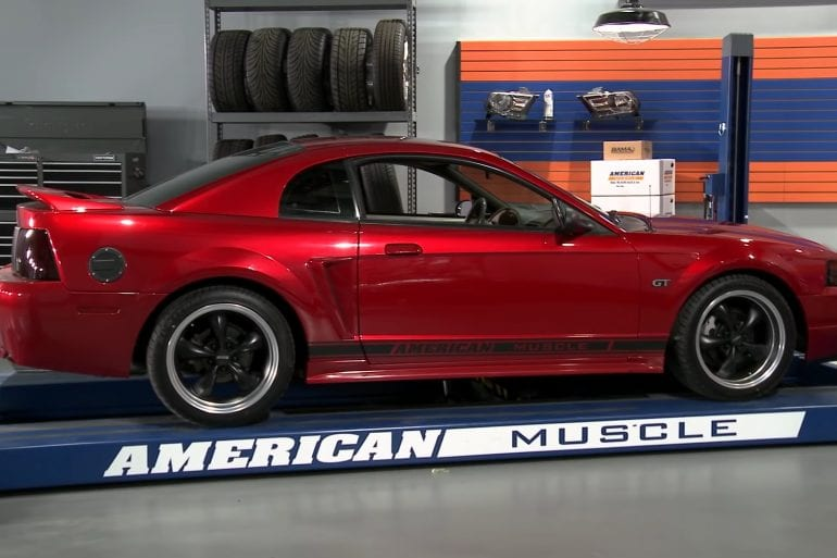 Video: Check Out This Incredible 2000 Ford Mustang GT Throwback Build