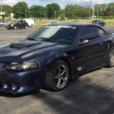 Video: Incredibly Gorgeous 2001 Ford Mustang Saleen