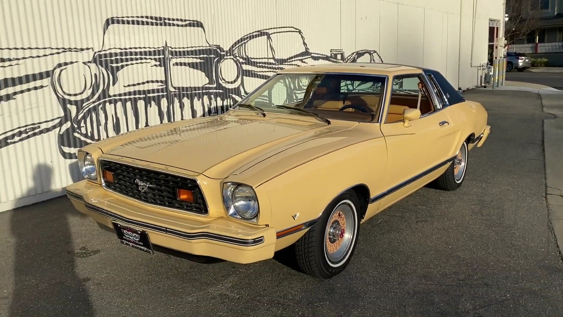 Video: 1977 Ford Mustang Ghia Quick Walkaround