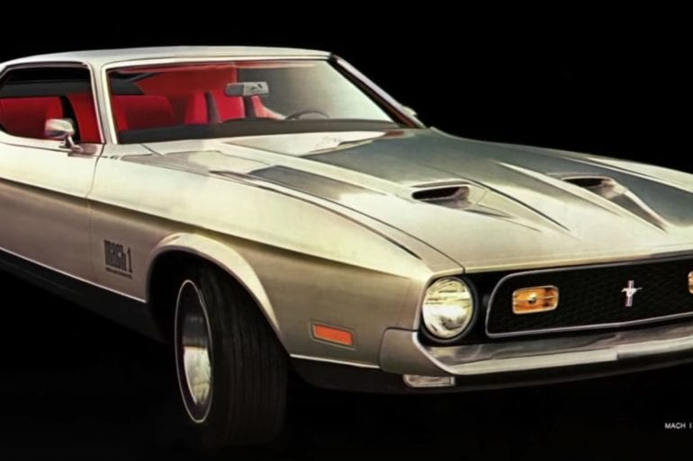 Video: The Story Behind The Development Of The 1974 Ford Mustang