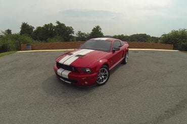 Video: 2007 Ford Mustang Shelby GT-500 POV Test Drive