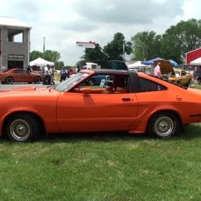 Video: Orange 1978 Ford Mustang King Cobra Overview + Engine Sound