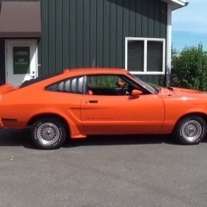 Video: Newly Restored 1978 Ford Mustang II King Cobra Overview