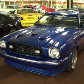 Video: Coolest 1978 Ford Mustang King Cobra You'll Ever See