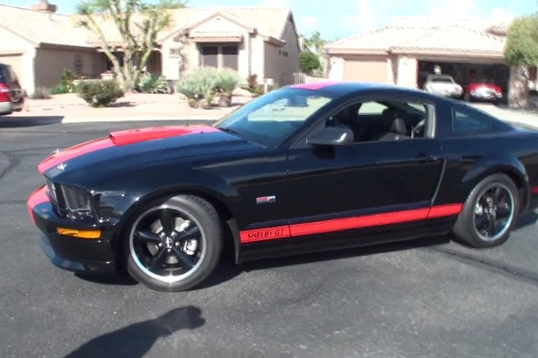 Video: 2008 Ford Mustang Shelby GT Barrett Jackson In-Depth Tour