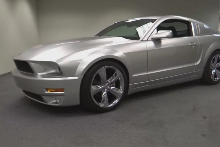 Video: 2009 Ford Mustang Lee Iacocca Silver 45th Anniversary Edition Walkaround
