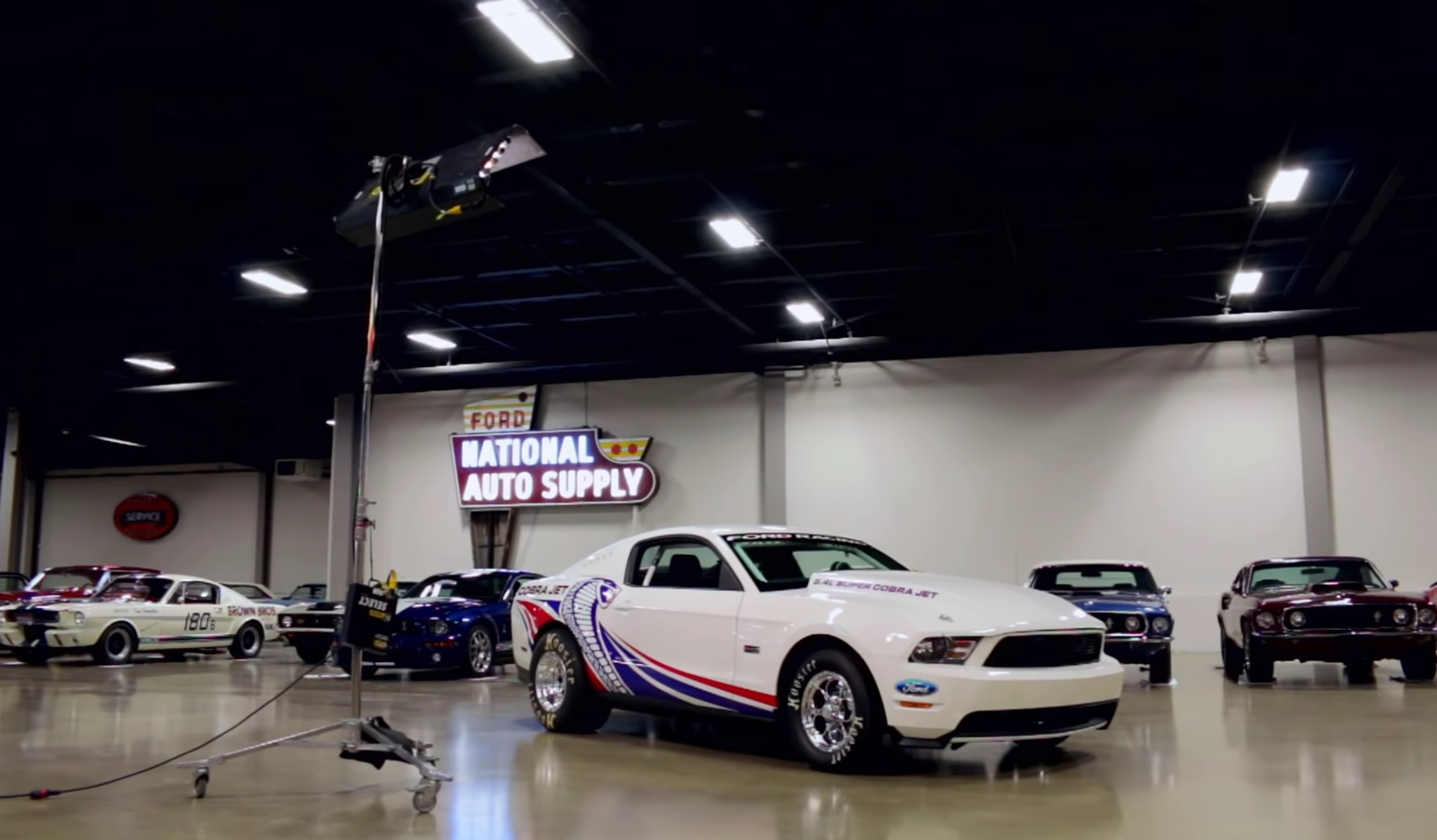 Video: 2010 Ford Mustang Super Cobra Jet Muscle Car Review