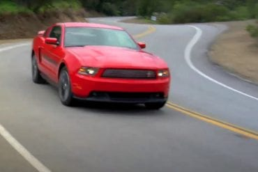 Video: 2011 Ford Mustang California Special At Mulholland Highway