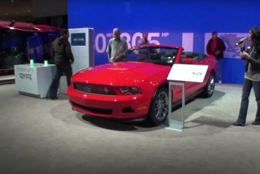 Video: 2011 Ford Mustang Club of America Special Edition At The LA Auto Show
