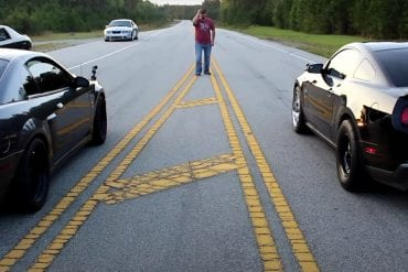 Video: 2012 Ford Mustang Shelby GT500 vs 2 '03 Whipple Cobras Battling It Out!