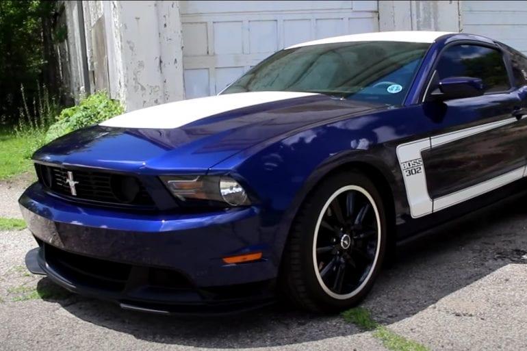 Video: 2012 Ford Mustang Boss Laguna Seca 302 Review