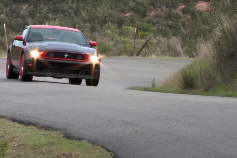 Video: 2012 Ford Mustang Boss 302 Laguna Seca - Road and Track Test