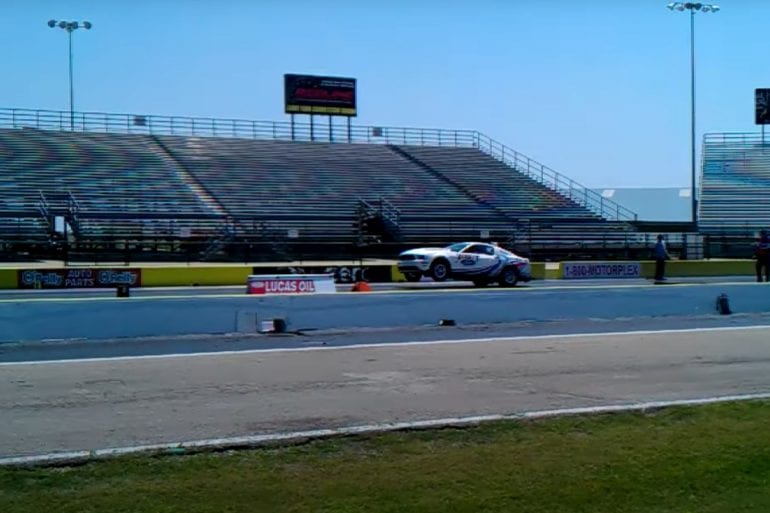 Video: Watch This 2012 Ford Mustang Cobra Jet Do An 8-Sec Quarter Mile