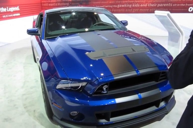 Video: 2013 Ford Mustang Shelby GT500 Cobra Walkaround
