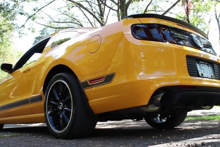Video: 2013 Ford Mustang Boss 302 Review