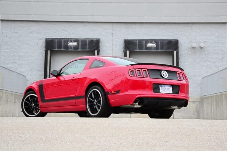 Video: 2013 Ford Mustang Boss 302 Winding Road POV Test Drive