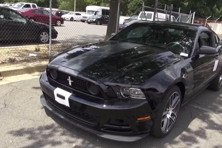 Video: 2013 Ford Mustang Boss Laguna Seca 302 Walkaround