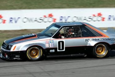Video: 1979 Ford Mustang IMSA At The 2013 Mosport Vintage Festival