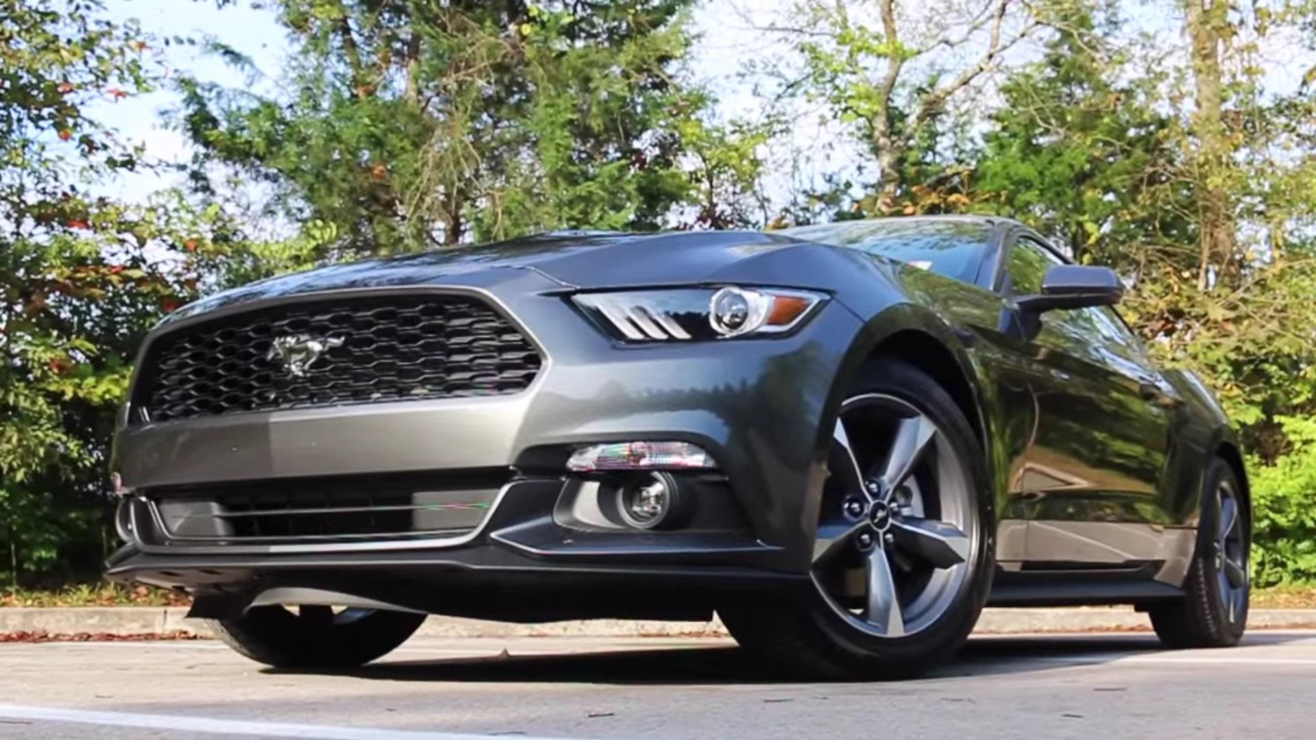 Video: 2015 Ford Mustang 3.7L V6 Cloth Interior