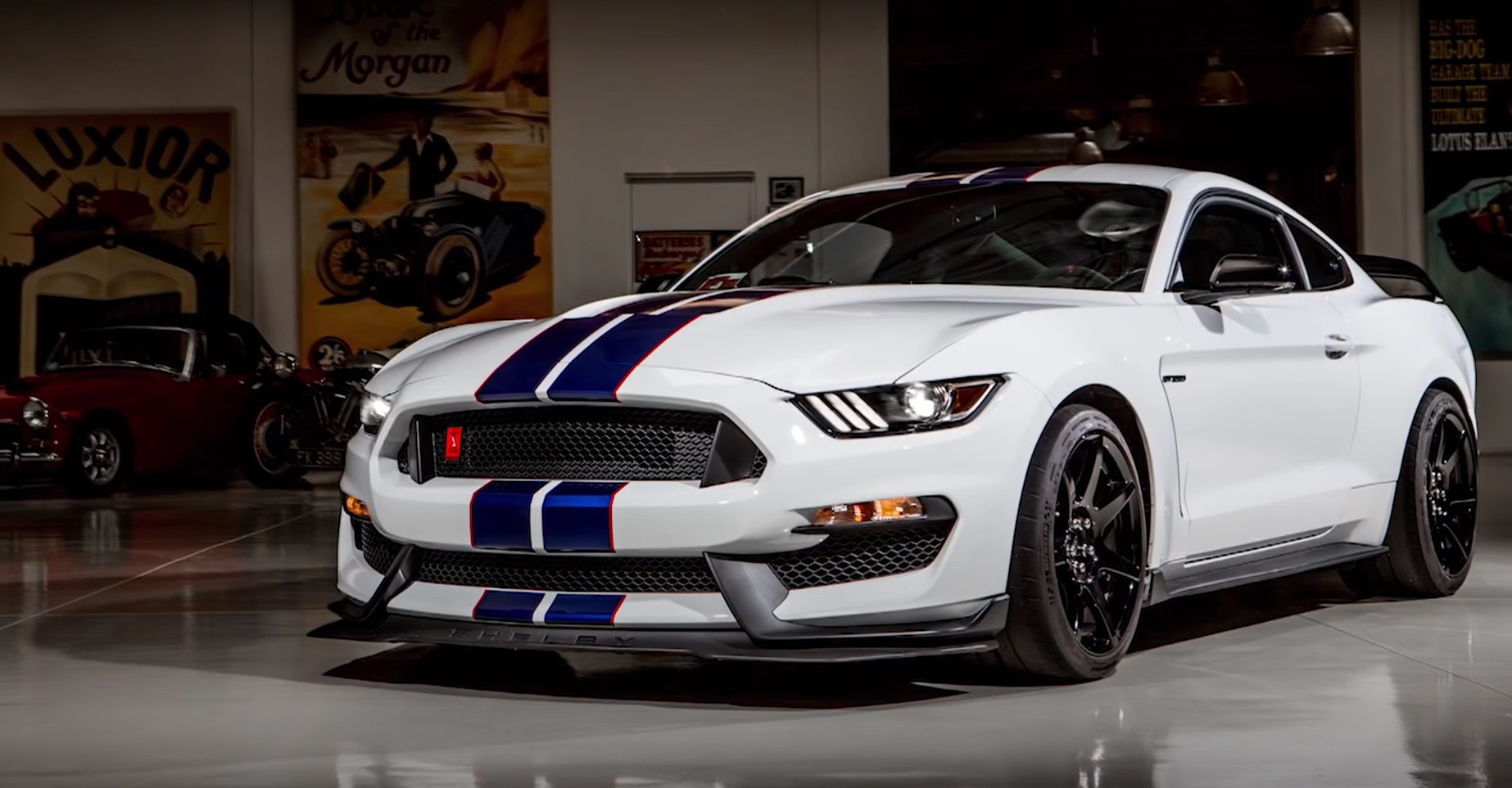 Video: 2015 Ford Mustang Shelby GT350R - Jay Leno's Garage