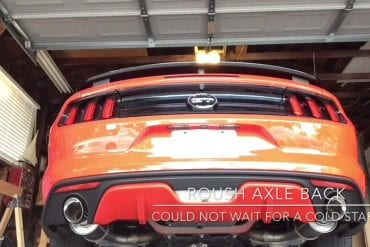 Video: 2016 Mustang GT/CS California Special With Roush Axle Back Exhaust