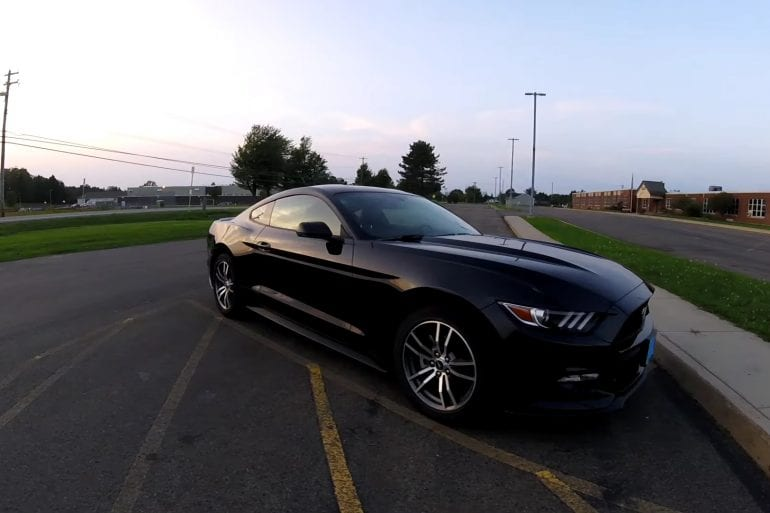 Video: 2017 Ford Mustang EcoBoost Premium 0-60 & Review