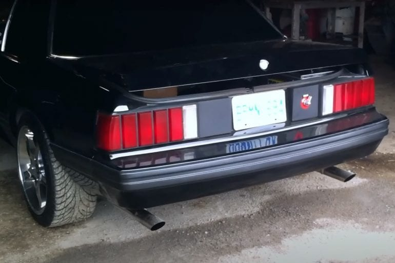 Video: 1981 Ford Mustang Notchback Exhaust Sound