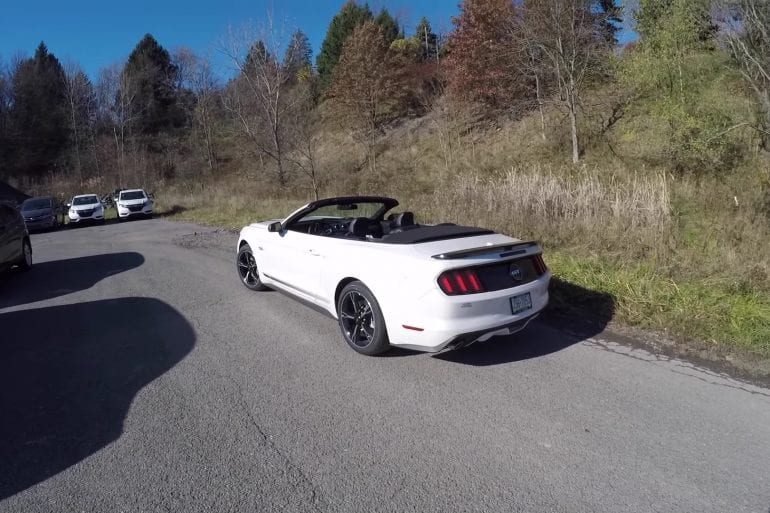 Video: Driving The 2017 Ford Mustang GT/CS California Special Convertible!