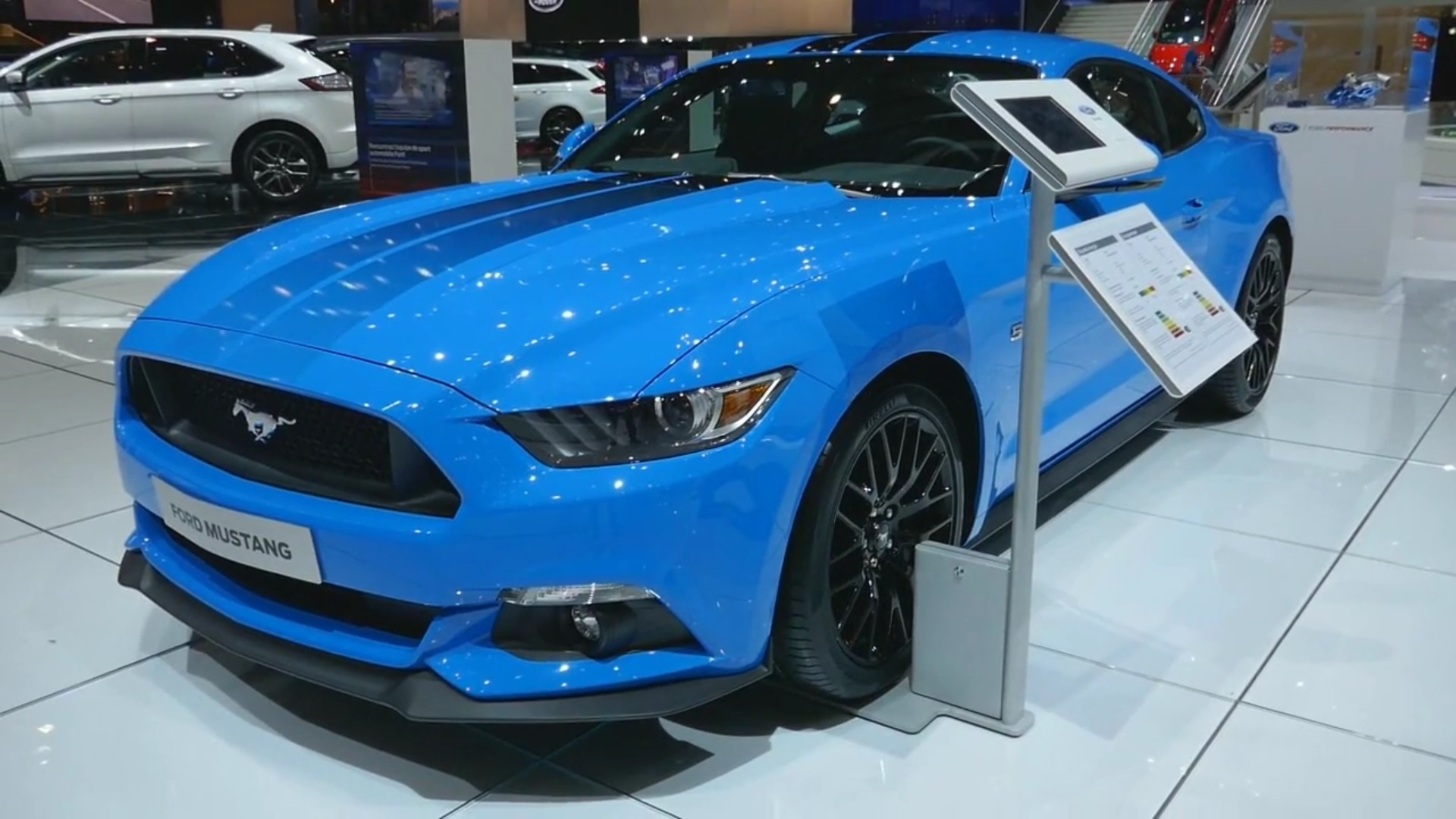 Video: 2017 Ford Mustang Blue Edition Walkaround