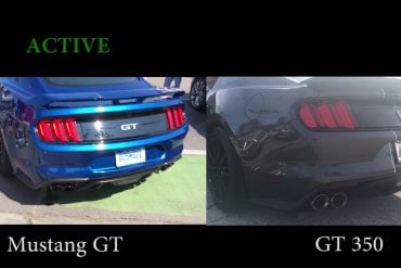 Video: 2018 Ford Mustang Shelby GT350 vs 2018 Ford Mustang GT - Exhaust Comparison