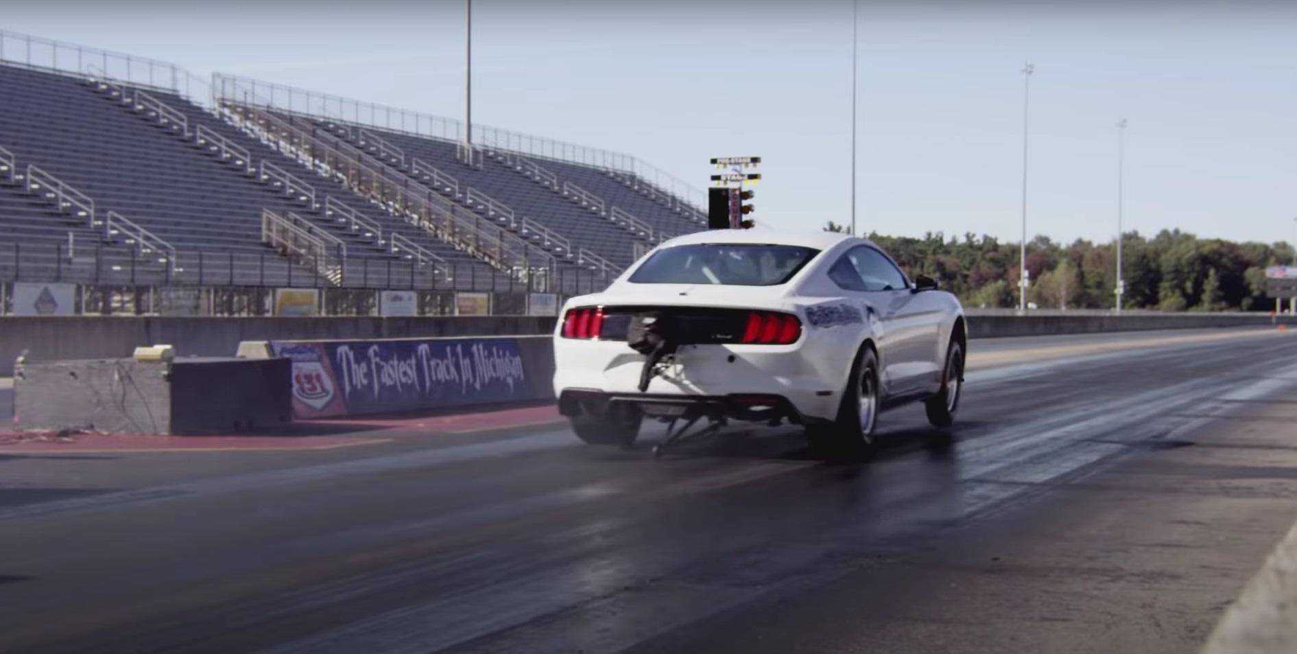 Video: 2018 Ford Mustang Cobra Jet - 2018 SEMA Show