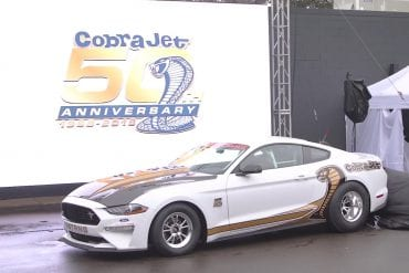 Video: 2018 Ford Mustang Cobra Jet Unveiling