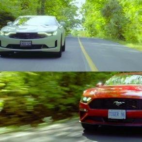 Video: 2019 Mustang EcoBoost vs Camaro 1LT Face Off