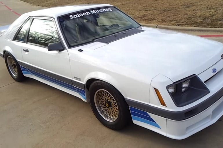 Video: 1985 Saleen Mustang Walkaround