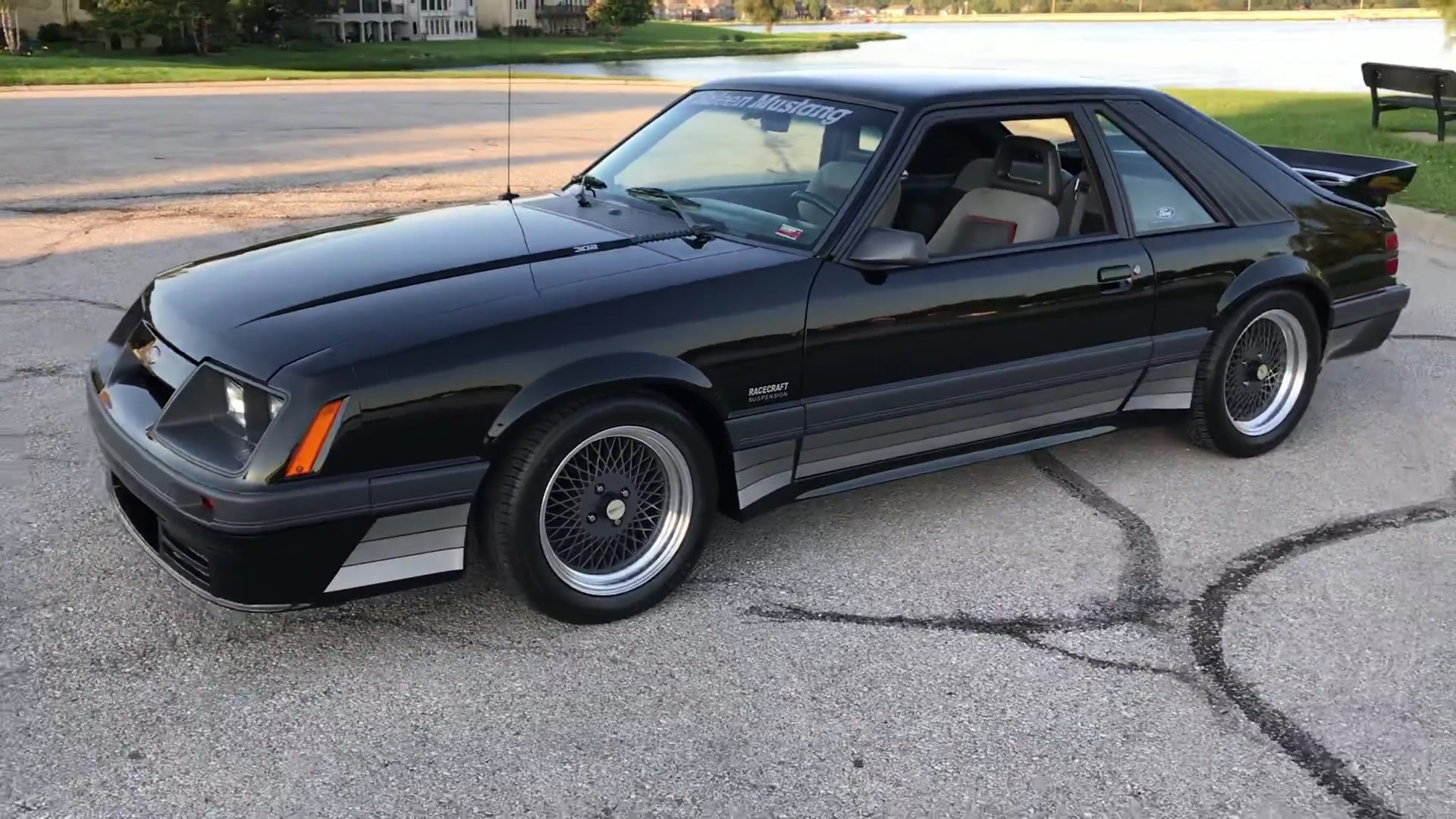 Video: 1986 Saleen Mustang Full Tour