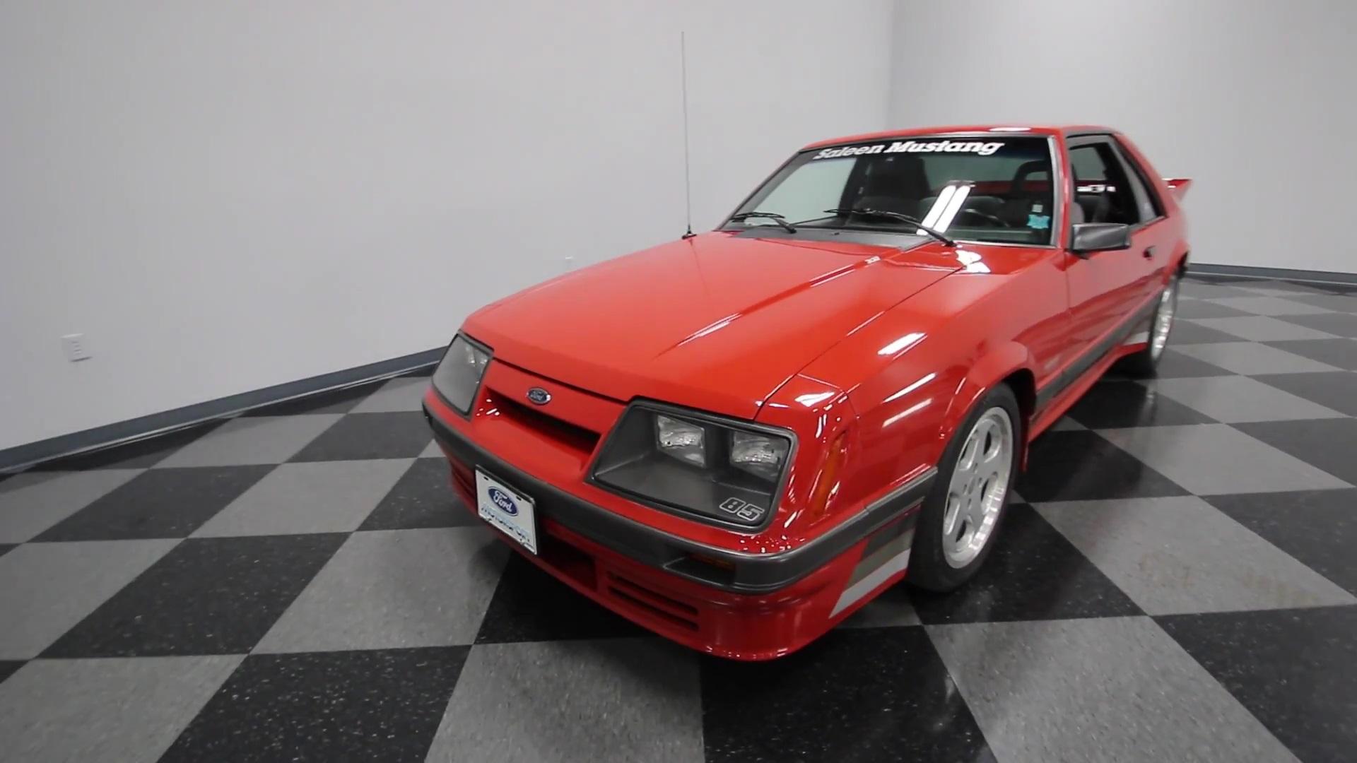 Video: 1986 Saleen Mustang Walkaround