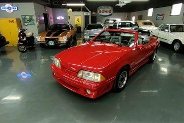 Video: 1987 Ford ASC Mclaren Mustang Convertible Test Drive