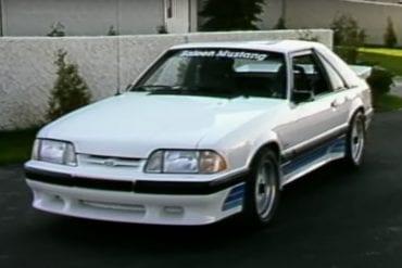 Video: 1988 Saleen Mustang and ASC McLaren Convertible