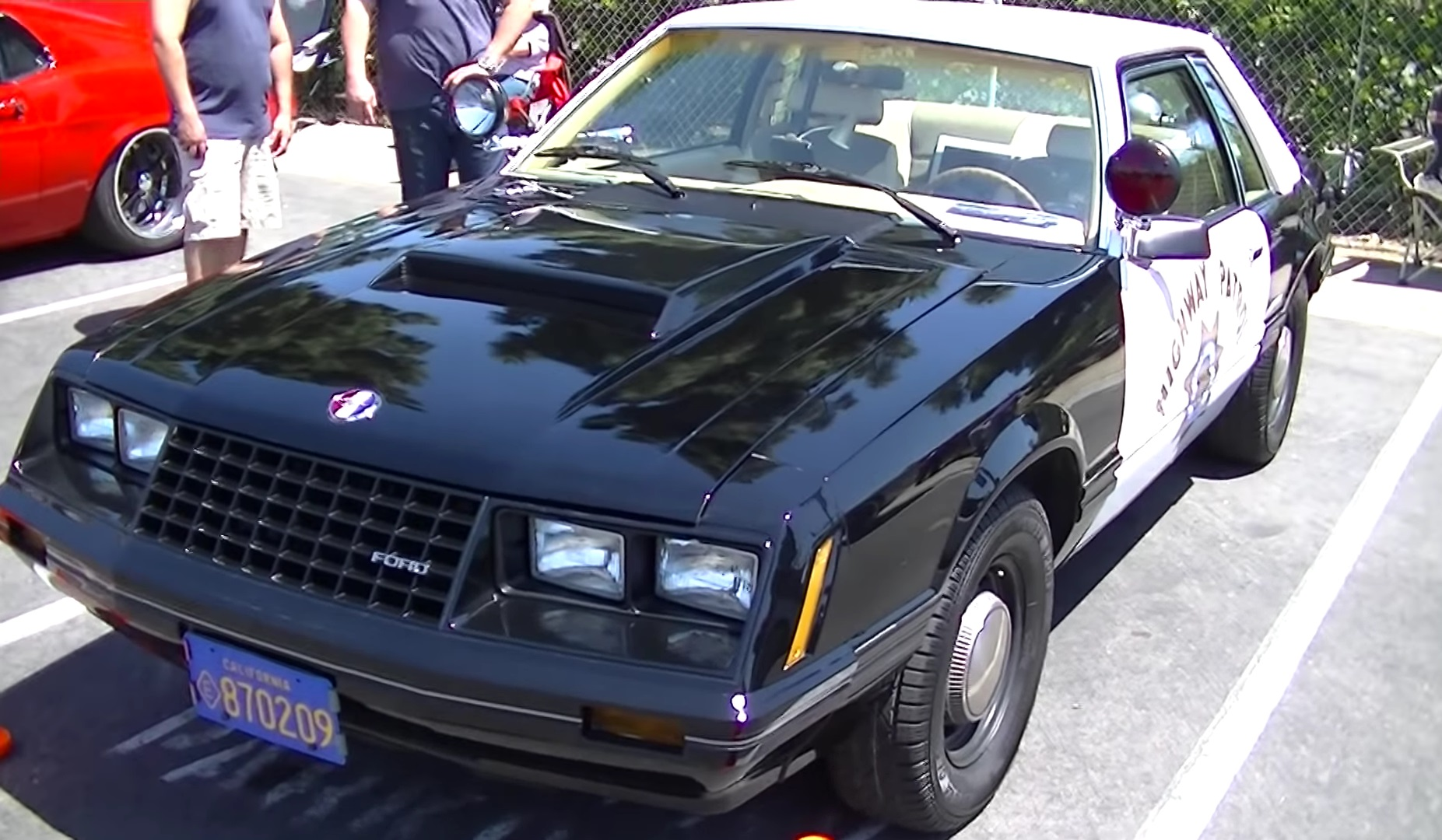 Video: 1982 Ford Mustang 5.0 CHP SSP Pursuit Quick Walkaround