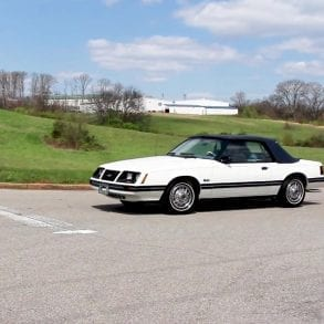 Video: 1983 Ford Mustang White Convertible Walkaround