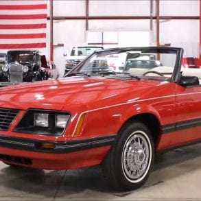 Video: 1983 Ford Mustang Convertible Walkaround