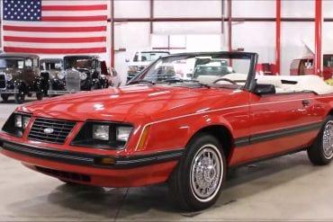 Video: 1983 Ford Mustang Convertible Walkaround