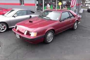 Video: 1984 Ford Mustang SVO Startup + Tour