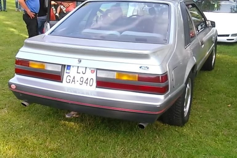 Video: 1985 Ford Mustang GT Exhaust Sound