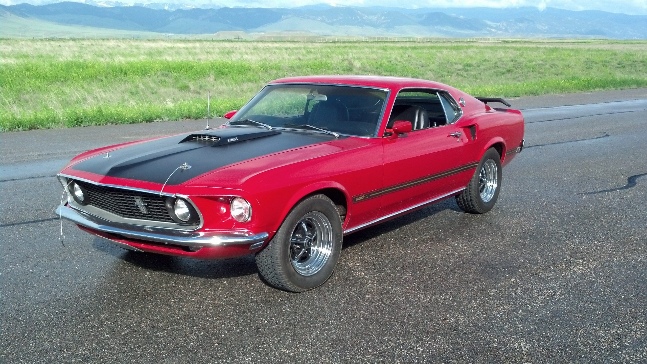 1969 Ford Mustang Mach 1 Wallpaper