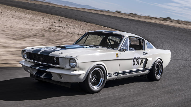 The 1965 GT350R.