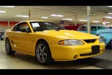 Video: 1998 Ford Mustang SVT Cobra 4.6 DOHC V8 Five-Speed Quick Tour