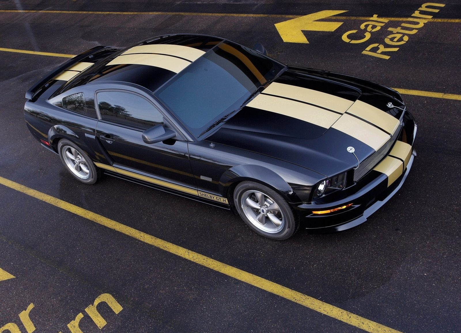 Shelby Gt H >> 2006 Ford Mustang Shelby GT Hertz Wallpapers ...