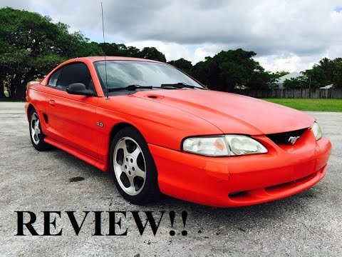 Video: 1995 Ford Mustang GT 5.0 Short Review