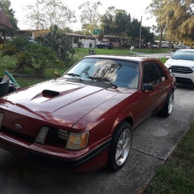 Video: 1984 Ford Mustang SVO 2.3L Turbo Startup + Walkaround